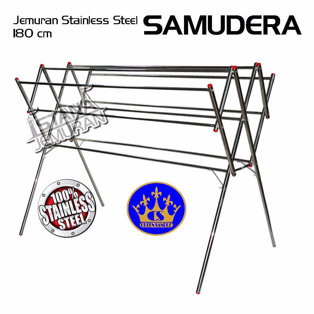 Jemuran Baju Stainless 180 Cm ( Samudera )
