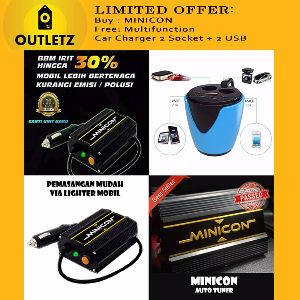 Limited Offer: Buy Minicon Stabilizer/free Multifuntion Car Charger
