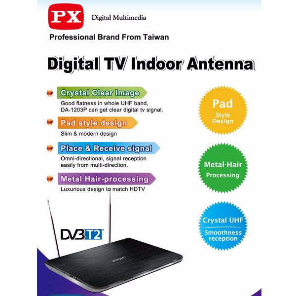 Digital Tv Indoor Antenna Da1203p