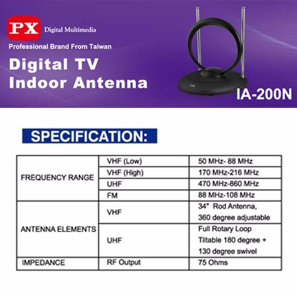 Digital Tv Indoor Antenna Ia200n4