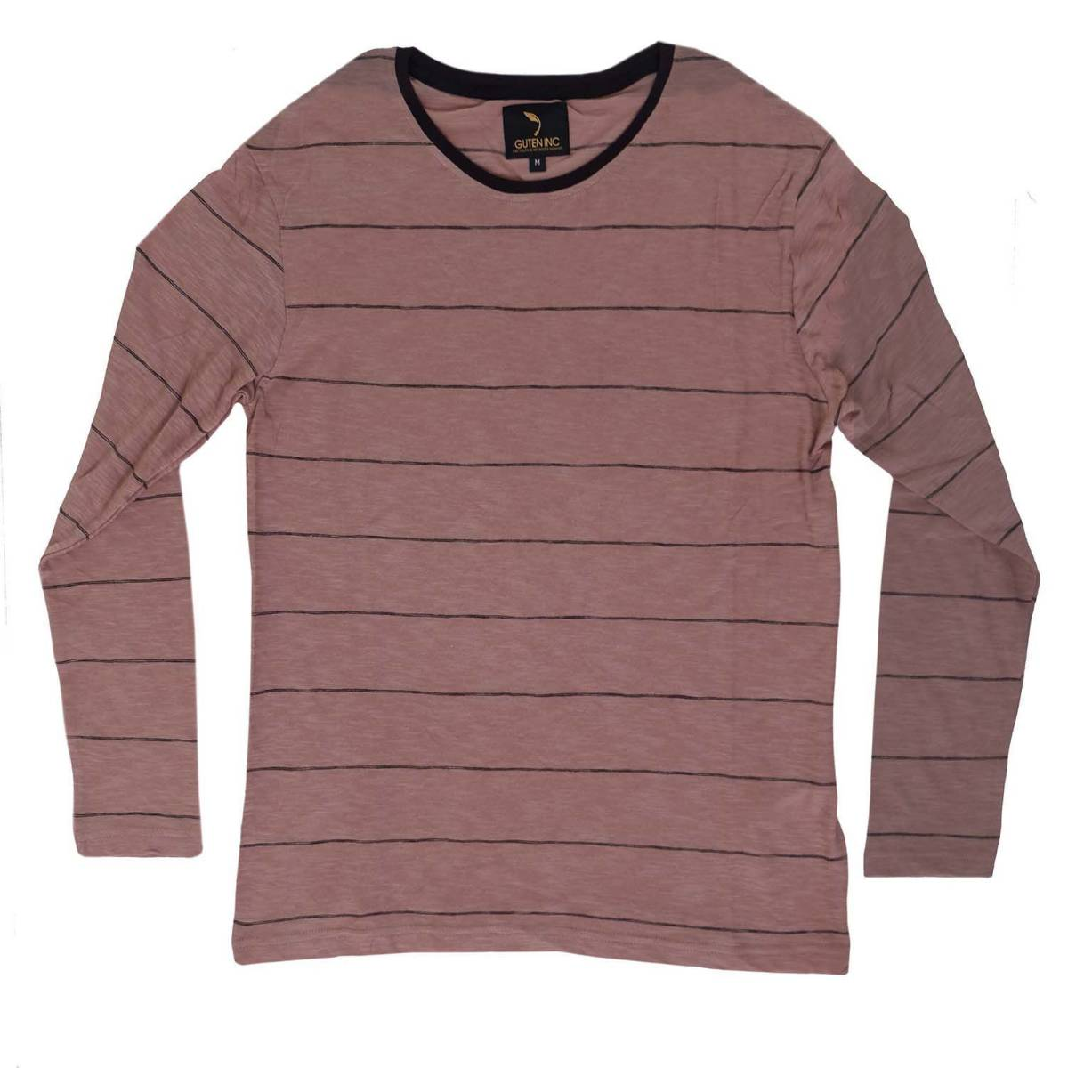 Kaos Lengan Panjang / Chester Brown Thin Stripe Ls