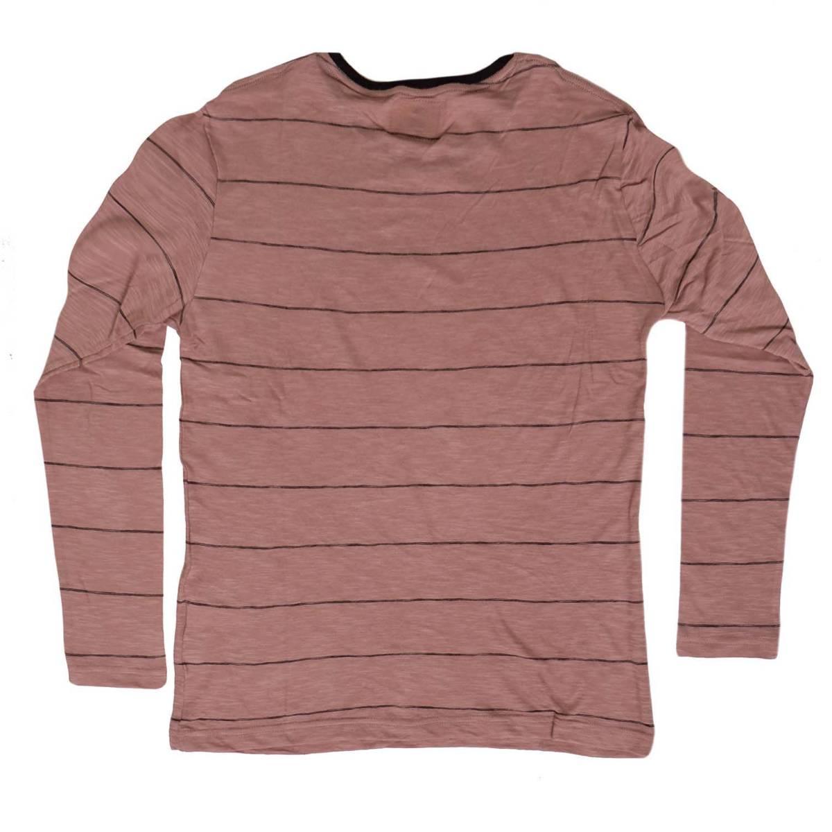 Kaos Lengan Panjang Chester Brown Thin Stripe Ls Sentral Online Polos Orange Triton Ls2