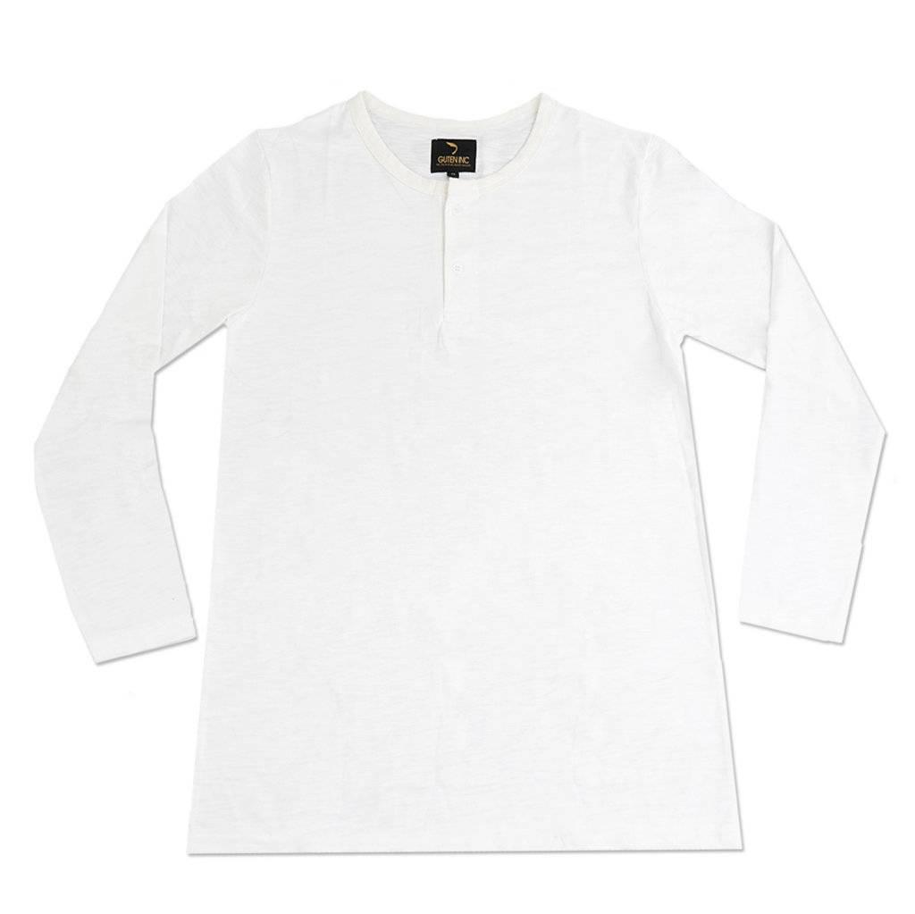 Kaos Lengan Panjang Mischa Henley Broken White Ls Sentral Online Polos Orange Triton Ls2