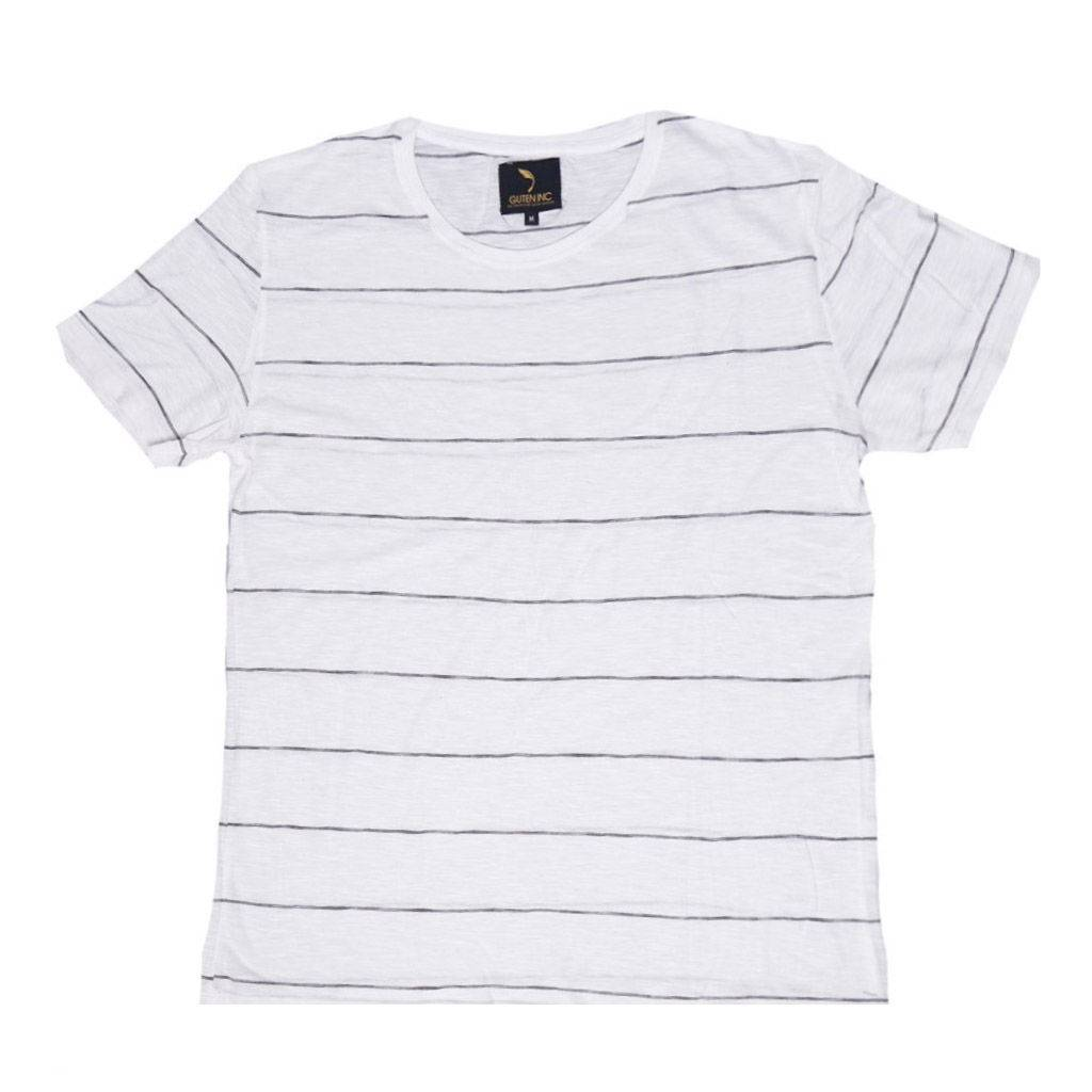 Kaos / Chester White Thin Stripe