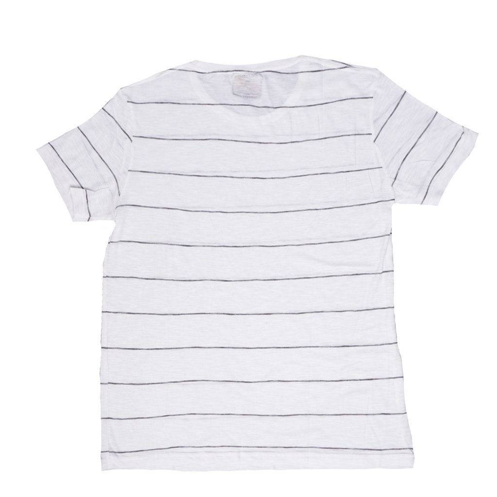 Kaos Chester White Thin Stripe Sentral Online Terpercaya Outletz Polos Orange Triton Stripe1