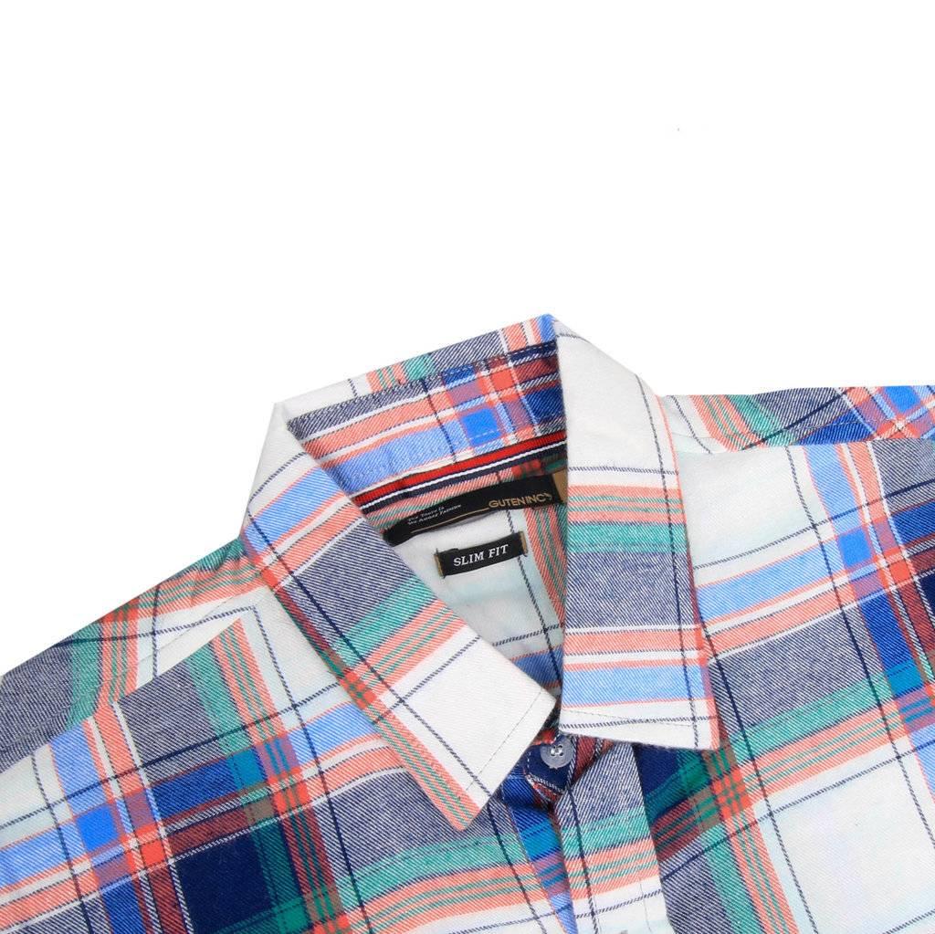 Kemeja Lengan Panjang Coulsen Flannel Shirt Sentral Online Jeep Jpw61802 Jam Tangan Pria Hitam Merah Shirt3