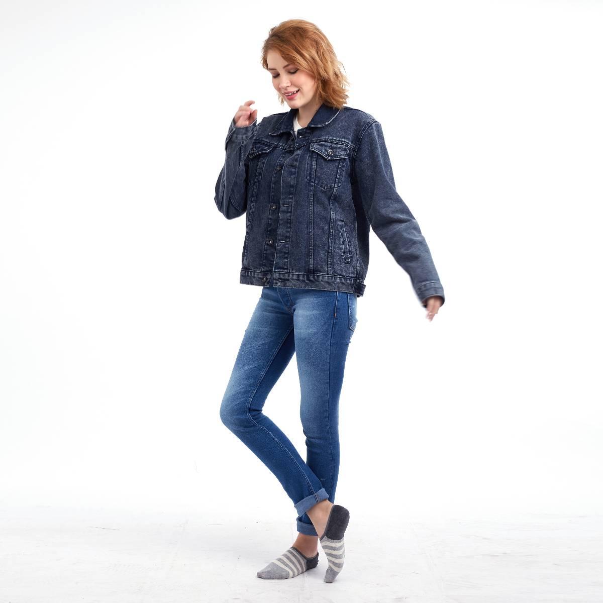 Celana Panjang Jeans / Street Wanderers Washed Ladies1