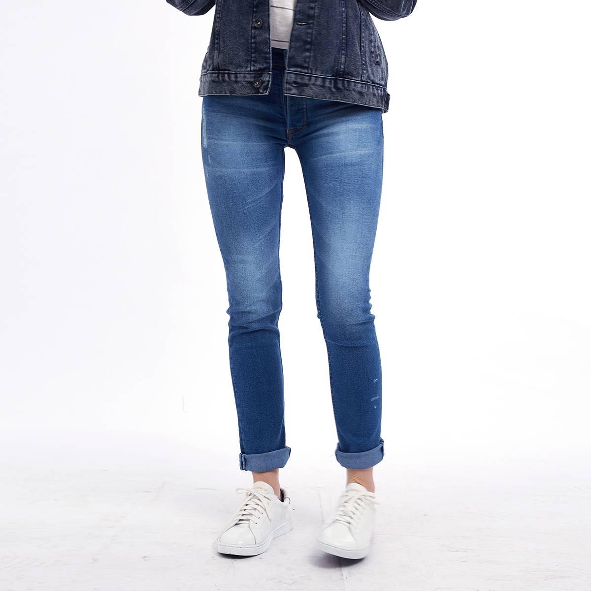 Celana Panjang Jeans / Street Wanderers Washed Ladies3