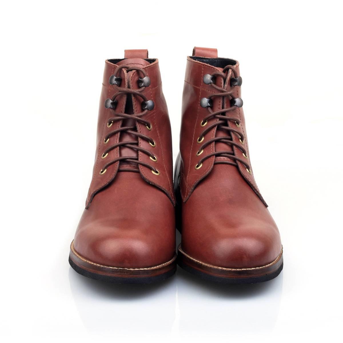 Sepatu / Logan Wooded Mahogany