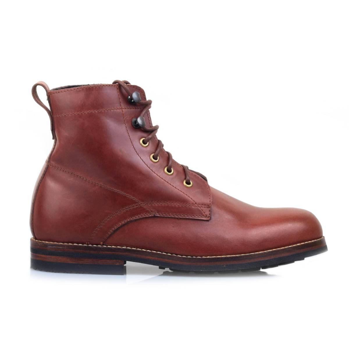 Sepatu Logan Wooded Mahogany Sentral Online Terpercaya Outletz Salt N Pepper Kemeja Pria Lengan Pendek 042 Red Mahogany1