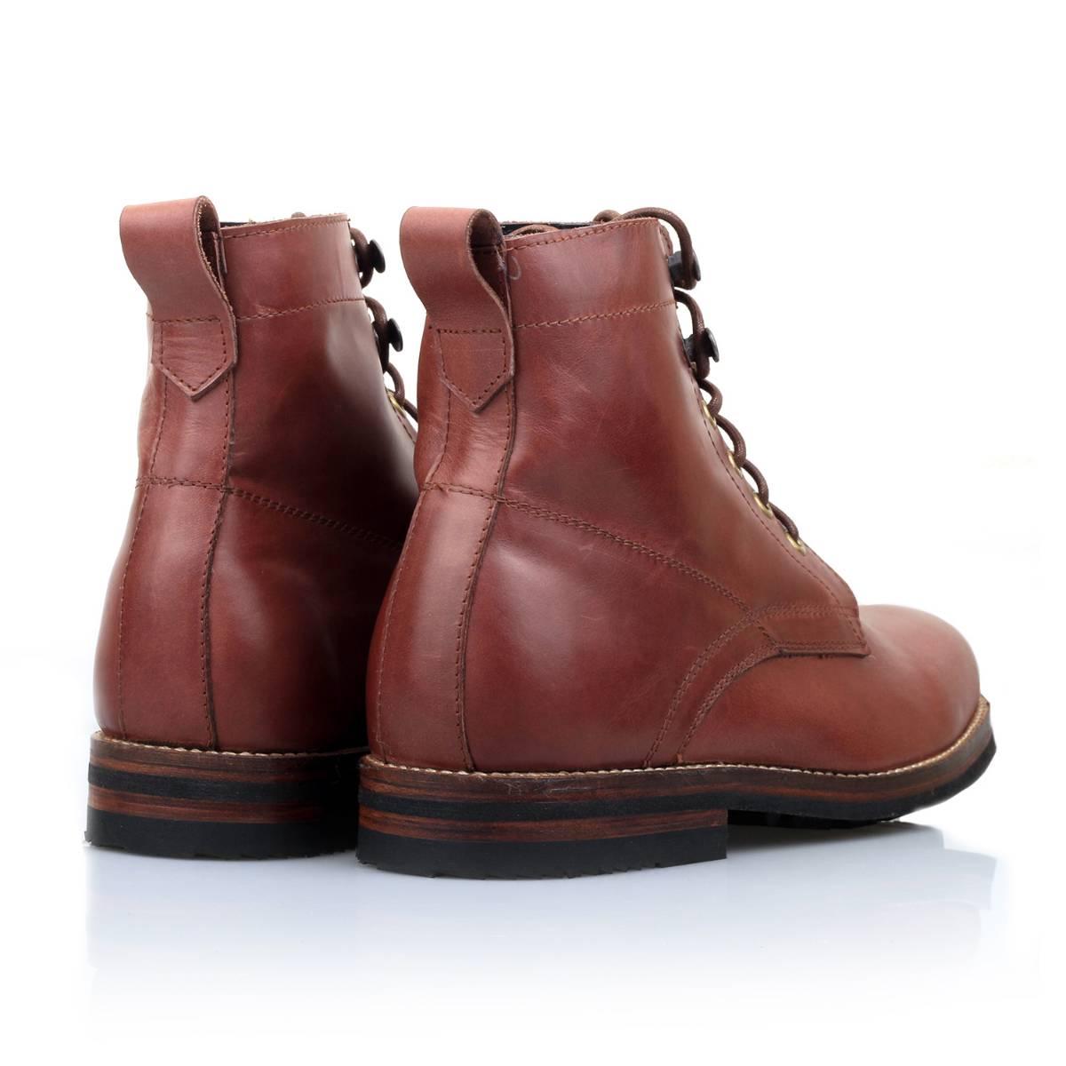 Sepatu Logan Wooded Mahogany Sentral Online Terpercaya Outletz Salt N Pepper Kemeja Pria Lengan Pendek 042 Red Mahogany3