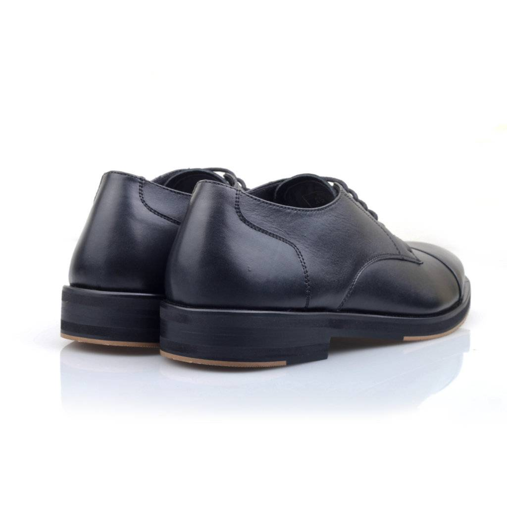 Sepatu Lana Derby Captoe Black Sentral Online Terpercaya Outletz Eagle Stallion Jogging Grey Beige 41 Black1