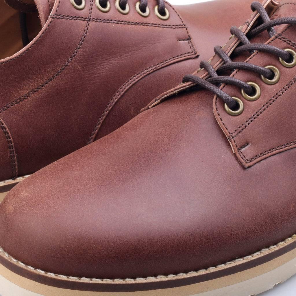 Sepatu Derby Brown Low Sentral Online Terpercaya Outletz Boot Wanita Abstrak 5cm Low3
