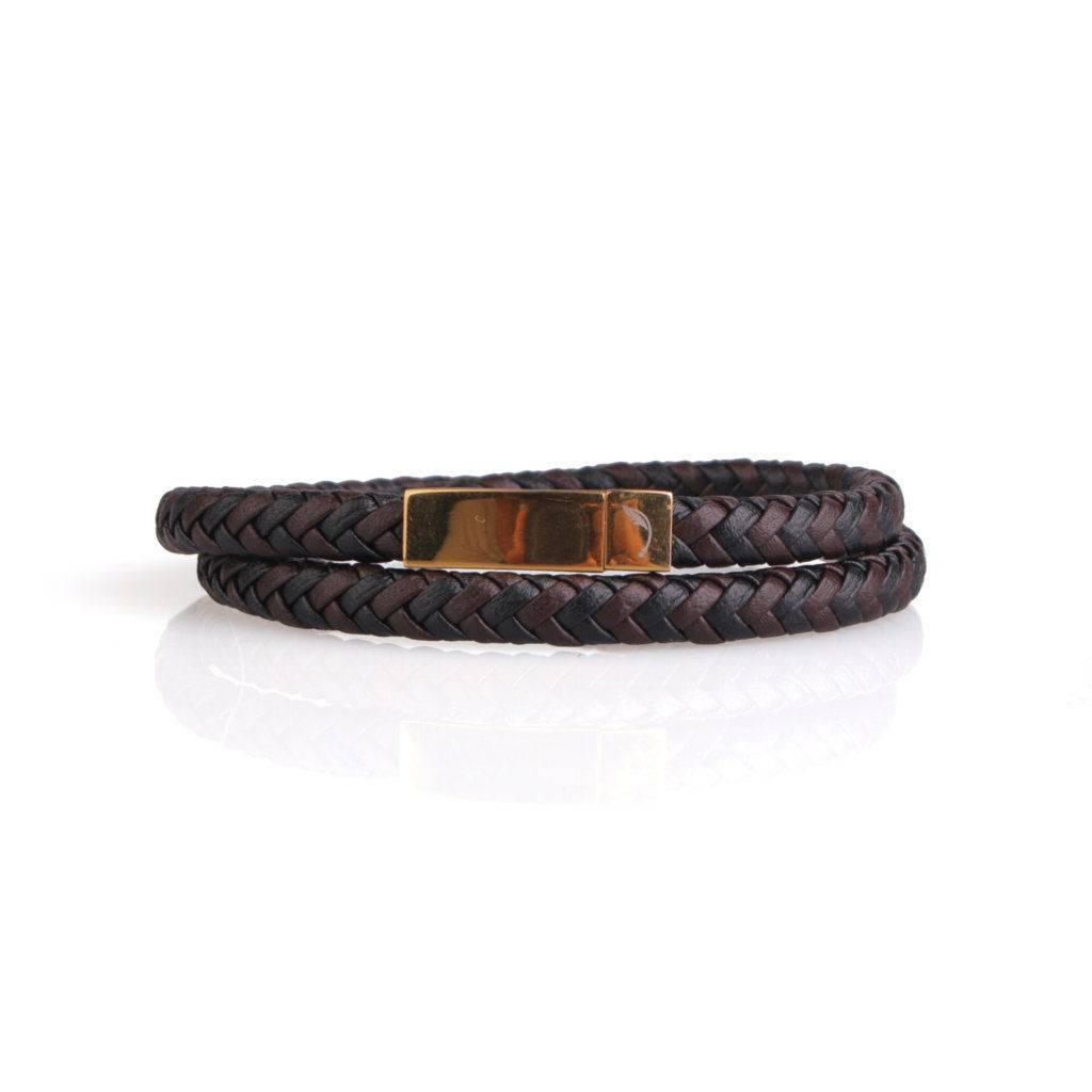 Two Layer Gold Guten Bracelet