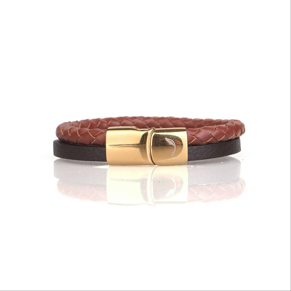 Two Tone Snap Guten Bracelet