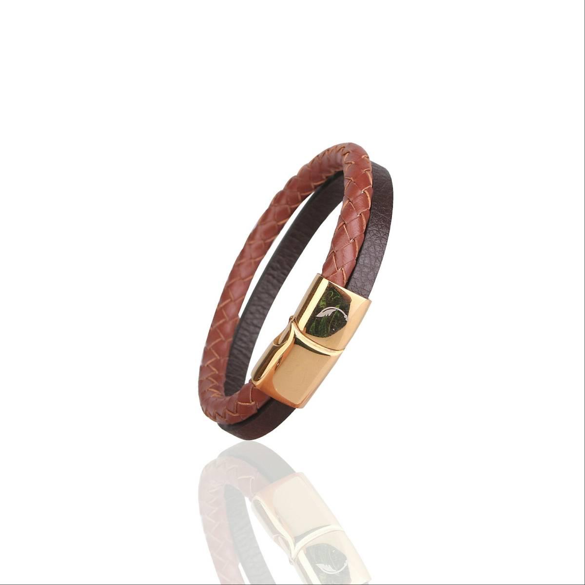 Two Tone Snap Guten Bracelet1