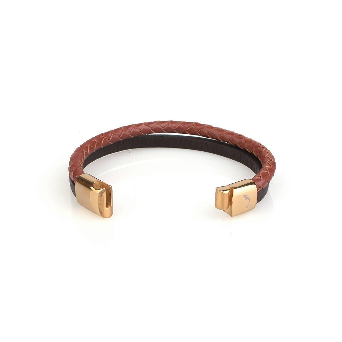 Two Tone Snap Guten Bracelet2