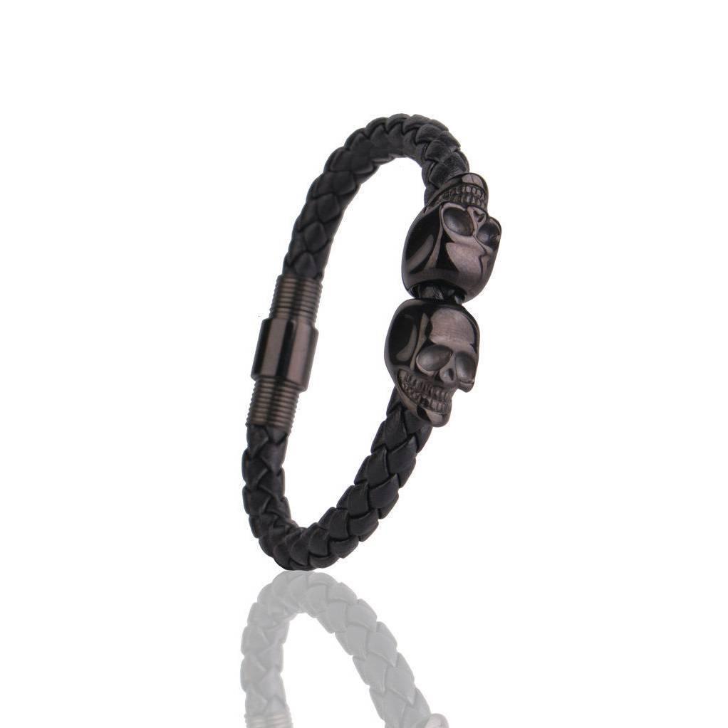 Black Skull Guten Bracelet