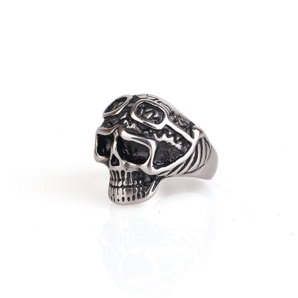 Skull Riders Ring Guteninc Sentral Online Terpercaya Outletz Sendal Gelang Putih Guteninc3