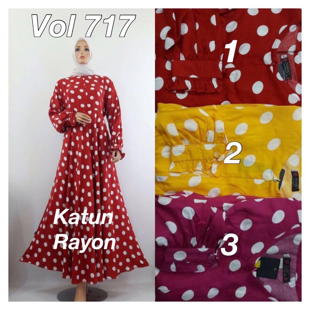 Gamis Katon Rayon 717