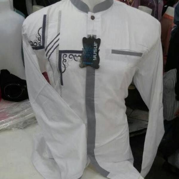 Motif Anaya Baju Koko Putih