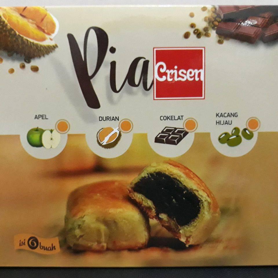 Pia Crisen Coklat & Kacang Hijau