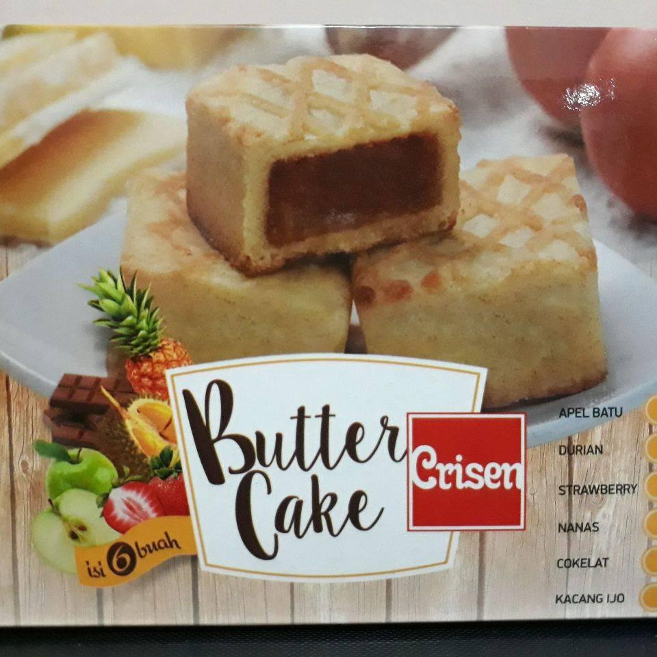Butter Cake Crisen Nanas, Durian & Apel