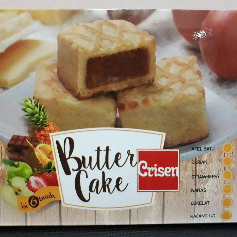 Butter Cake Crisen Kacang Hijau Dan Coklat