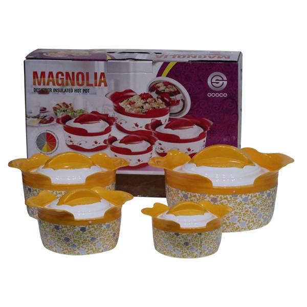 Hot Pot Magnolia 4 Set (s-107)2
