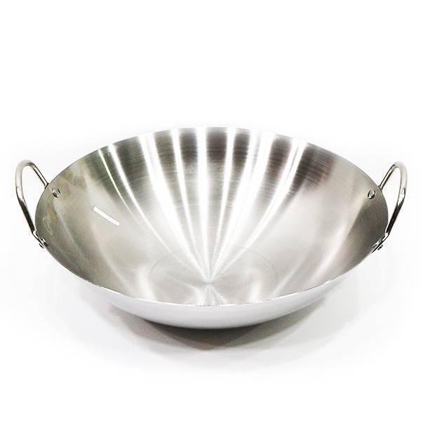 Wajan Stainless Steel (diameter 40 Cm)