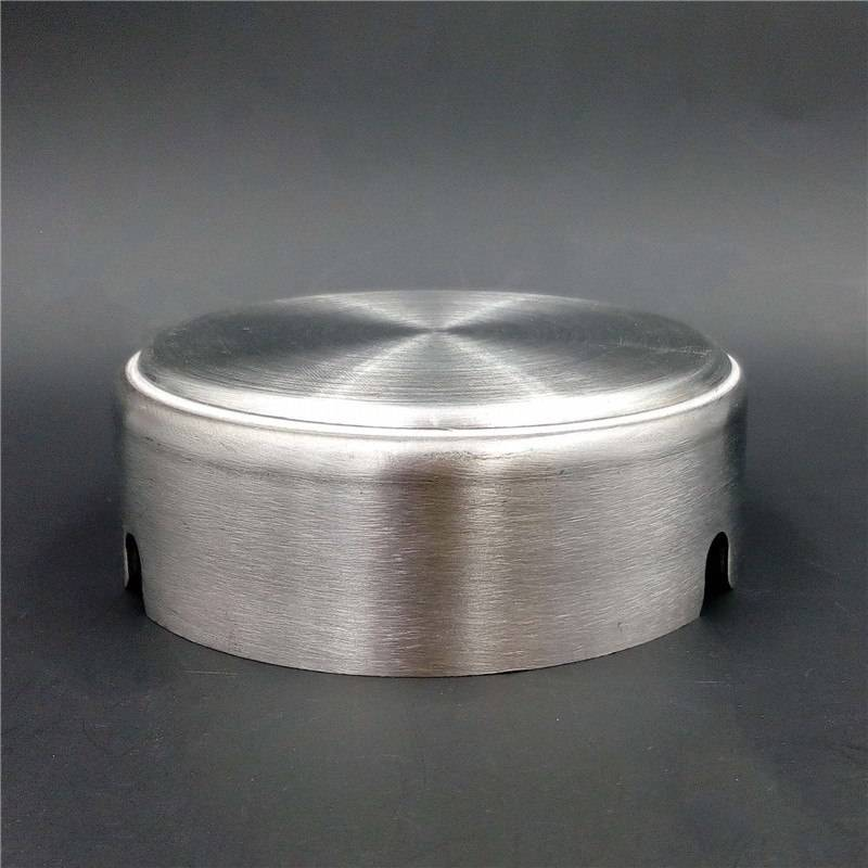 Asbak Stainless Steel (diameter 8 Cm)(s-200)1