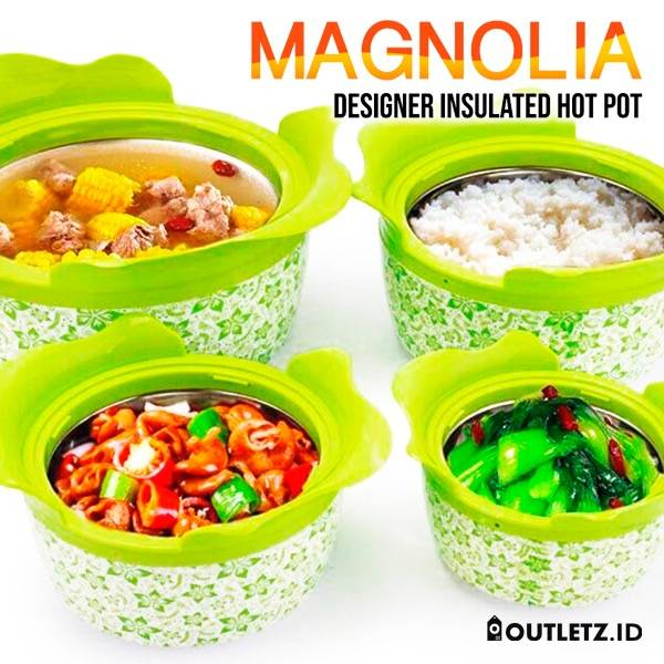 Hot Pot Magnolia 4 Set (s-107)2