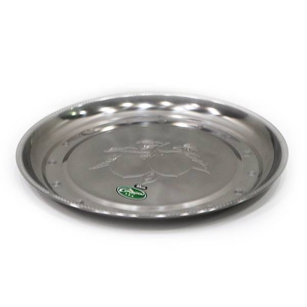 Nampan Bundar Stainless Steel (diameter 40 Cm) S-0431