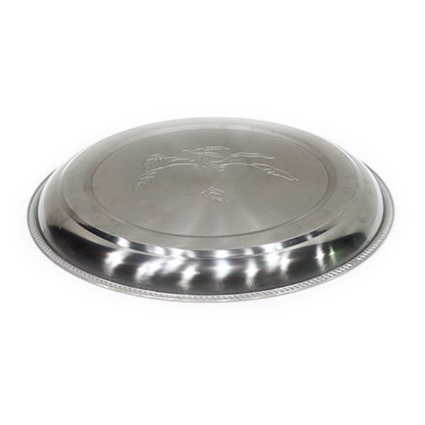 Nampan Bundar Stainless Steel (diameter 40 Cm) S-0432