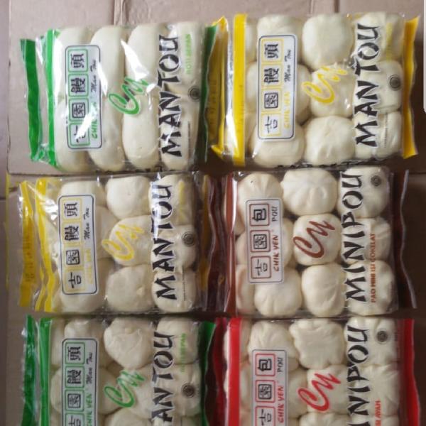 Roti Mantau Frozen (per Karton) Banyak Pilihan Rasa