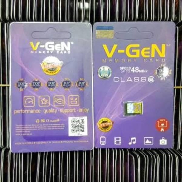Microsd V-gen 16gb Class 6 48mb/s (microsd Vgen) Memory Hp