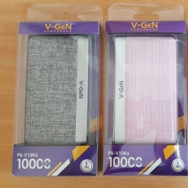 Powerbank V-gen Platinum V10k6 10000 Mah (power Bank Vgen)3