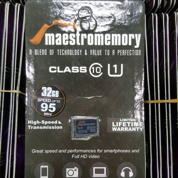 Microsd 32gb Maestro Class 6 Chip Only (memory Hp)