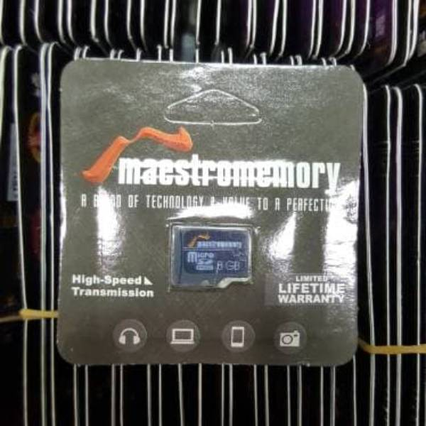 Microsd 8gb Maestro Class 6 (memory Hp)