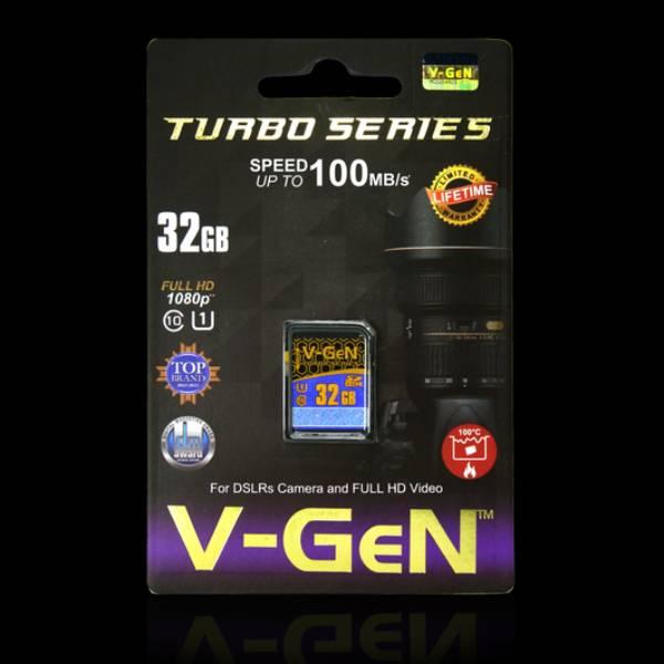 Sdhc V-gen 32gb Class 10 Turbo 85mb/s (sdcard Vgen) Memory Kamera