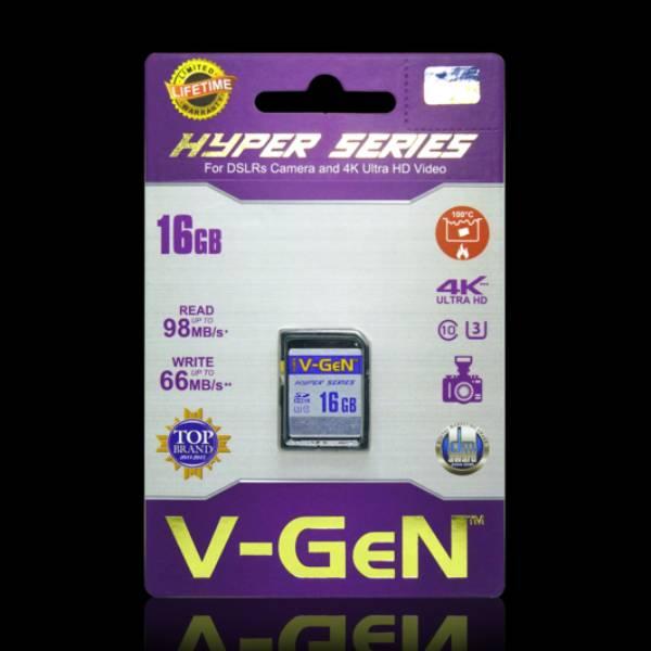 Sdhc V-gen 16gb Hyper 98mb/s (sdcard Vgen) Memory Kamera