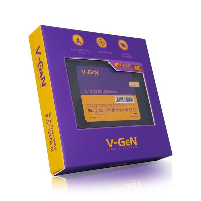 Solid State Drive V-gen 120gb Sata 3 (ssd Vgen)