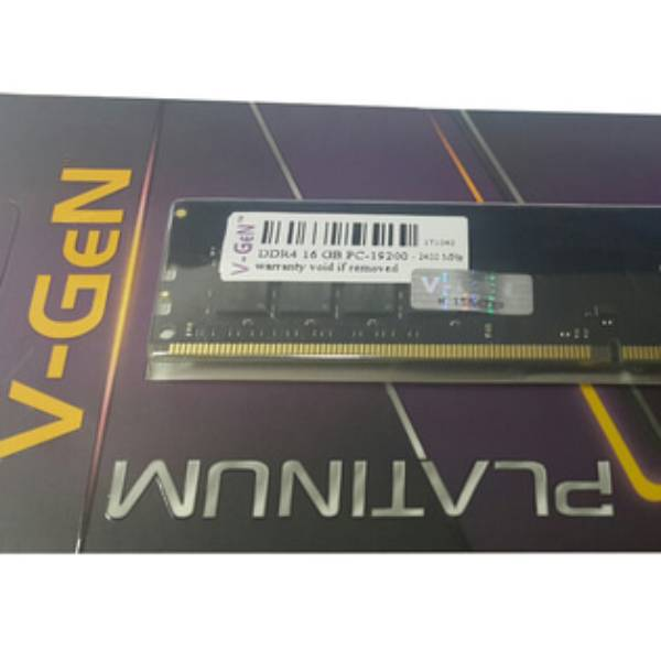Ram Ddr4 V-gen 16gb Pc19200/2400mhz Long Dimm (memory Pc Vgen)