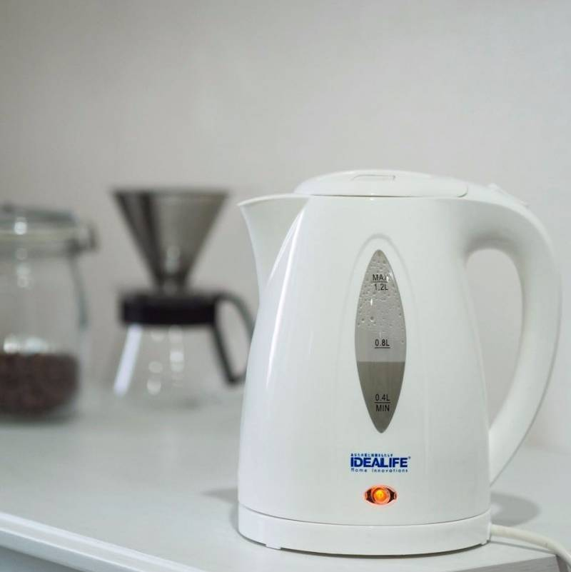Idealife - Auto Electric Kettle - Teko Listrik (1.2litre) (il-111s)0