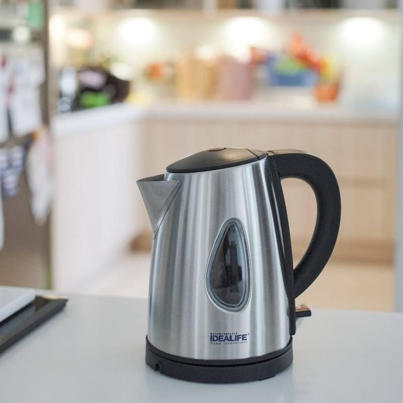 Idealife - Auto Stainless Electric Kettle - Teko Listrik (1.0litre) (il-115s)1