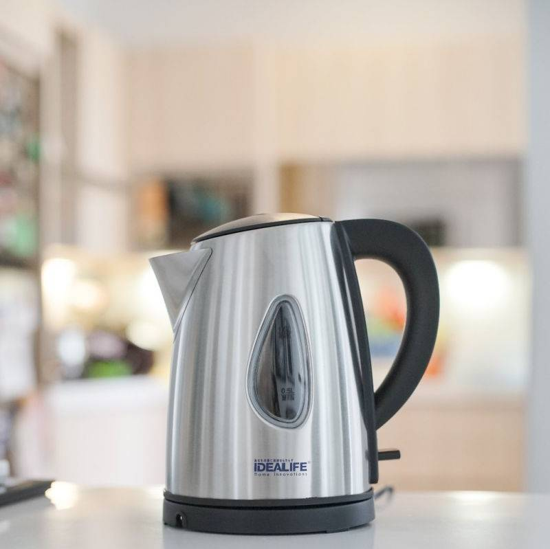 Idealife - Auto Stainless Electric Kettle - Teko Listrik (1.0litre) (il-115s)2