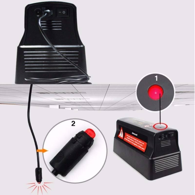 Idealife - Electronic Rat Zapper - Perangkap Tikus Elektrik - Il-2903