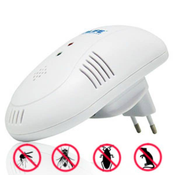Idealife - Pest Control – 4in1 Frequency Technology, Plug & Use – Pengendali Hama (il–300)1