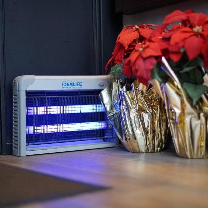 Idealife Pest Control Lamp 2 X 10watt - Lampu Pengendali Hama 2x10wat - Il20w