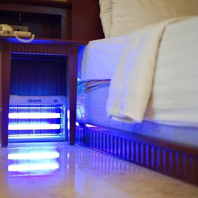 Idealife Pest Control Lamp 2 X 10watt - Lampu Pengendali Hama 2x10wat - Il20w1